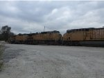 UP units at CN East Joliet Yard